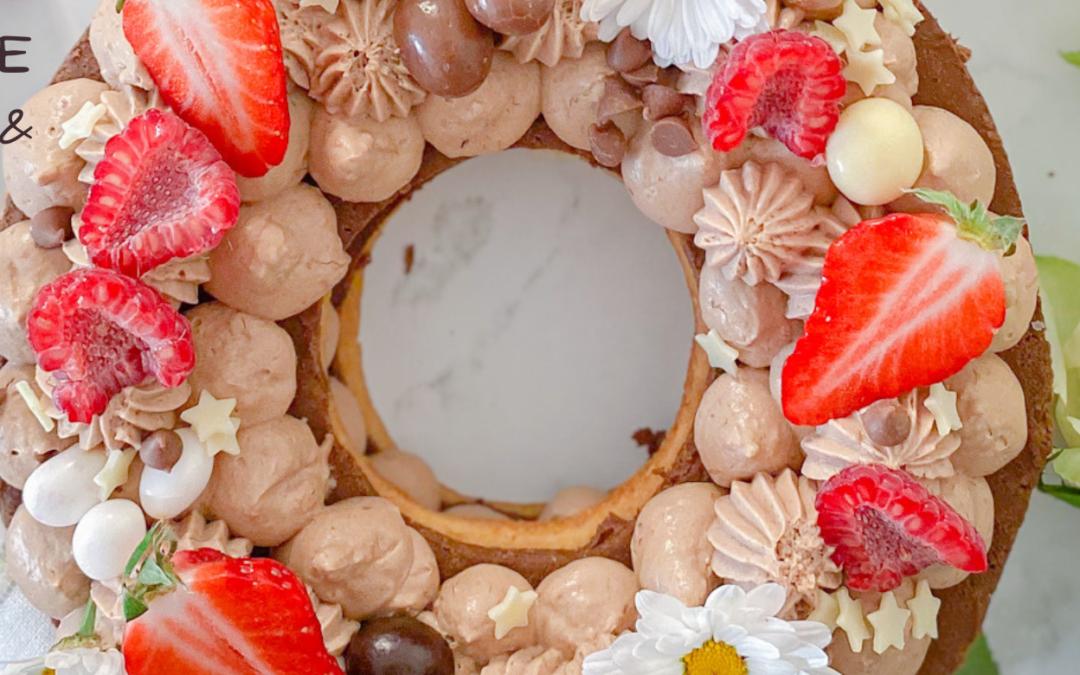 RABBIT CAKE CHOCOLAT & PRALINÉ